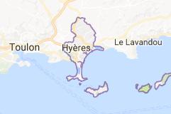 Hyère située dans le Var